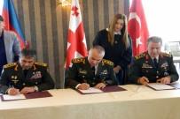 GÜNEY OSETYA - Üç Genelkurmay Başkanı Gürcistan'da Bir Araya Geldi