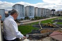 ENGELLİ ÇOCUK - Yeşilyurt Belediye Başkanı Hacı Uğur Polat'tan Parklara İnceleme