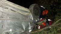 Zonguldak'ta İki Araç Kafa Kafaya Çarpıştı Açıklaması 2 Yaralı