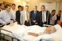 BOMBALI SALDIRI - AK Parti'li Vekillerden Yaralılara Ziyaret