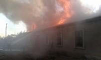 Alata Ziraat Okulu'nda Yangın