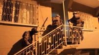 POLİS HELİKOPTERİ - Anne-Oğlun Yönettiği Uyuşturucu Çetesi Çöketrildi
