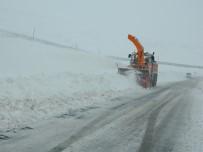 Ardahan-Posof Karayolunda Kar Ve Tipi Açıklaması Onlarca Tır Mahsur Kaldı