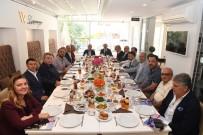ANTALYA - Başkan Böcek, Projelerini Anlattı