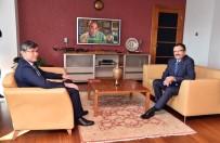 Başkan Tiryaki Kazakistan'ın Ankara Büyükelçisi İle Görüştü