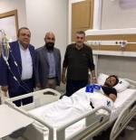 ŞANLıURFASPOR - Başkan Toçoğlu'ndan Sakatlık Geçiren Sakaryaspor Takım Kaptanına Ziyaret