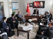 FATIH ÜRKMEZER - Çin Heyetine Türk Kamu Personel Yapısı Anlatıldı