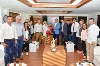 ANTALYA - Dokuz Eylüllülerden Başkan Uysal'a Ziyaret