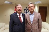 Genel Sekreter Bayram Ve Başkan Köken Turizm İçin Bir Araya Geldi