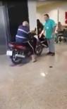 CEP TELEFONU - Hastaneye Motosikletiyle Girdi, Belediyelere Mizah Konusu Oldu