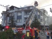 YENIDOĞAN - Hisarcık'ta Korkutan Yangın