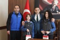 BEDEN EĞİTİMİ - İl Milli Eğitim Müdürü Murat Aşım Başarılı Öğrencileri Makamında Ağırladı