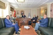 İNTERNET SİTESİ - Kamu Baş Denetçisi Malkoç, Uşak Üniversitesi Rektörünü Kabul Etti