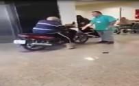 CEP TELEFONU - Motosikletiyle Hastaneye Girdi Açıklaması Mizah Konusu Oldu