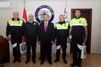 POLİS MERKEZİ - Örnek Polisler Ödüllendirildi