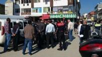 İL EMNİYET MÜDÜRLÜĞÜ - 'Yol vermedi' diye polise kafa atınca...
