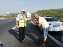 TRAFİK EĞİTİMİ - Polisten Araç Sürücülerine Eğitim