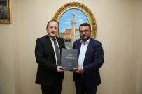 BELEDİYE BAŞKAN YARDIMCISI - Sebilürreşad Dergisi Yazarları Vali Ali Hamza Pehlivan'ı Ziyaret Etti