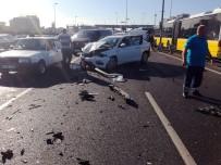 OKMEYDANı - Şişli E-5 Karayolu'nda Zincirleme Kaza  Açıklaması 2 Yaralı