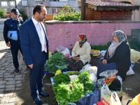 Ünye Belediyesinden Pazarcılara Tezgah