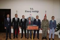 TUNCELİ VALİSİ - Vali Sonel'den, Vali Kaldırım'a Ziyaret