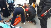 Zonguldak'ta Otomobil Yayaya Çarptı Açıklaması 1 Yaralı