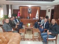 İLHAMI AKTAŞ - AK Parti İl Başkanı Yanar, Vali Aktaş'ı Ziyaret Etti