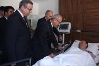 Bakan Bombalı Saldırıda Yaralananları Ziyaret Etti