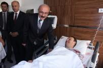 Bakan Elvan, Terör Saldırısında Yaralananları Ziyaret Etti