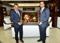 TİCARET BAKANLIĞI - Bakan Yardımcısı Fatih Çiftçi'den Belediye Başkanı Selahattin Gürkan'a Övgü