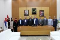 YUSUF DEMIR - Başkan Toçoğlu, Genel Başkan Yardımcısı Karacan'la Bir Araya Geldi