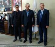 AHMET ÖZEN - Başkan Yaman Sendikacılarla Bir Araya Geldi