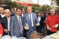 MUHARREM AYI - Başkanlar Şoförlerin Aşure Hayrına Katıldı