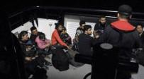 SÜRAT TEKNESİ - Bitez'de 24 Düzensiz Göçmen Yakalandı