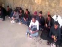 SURİYE - Çanakkale'de 42 Suriye Uyruklu Kaçak Yakalandı