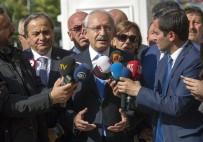 MUHTARLAR KONFEDERASYONU - CHP Lideri Kılıçdaroğlu, Muhtarlar Konfederasyonunu Ziyaret Etti