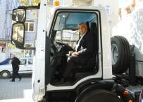 FATİH ÇALIŞKAN - Çok Amaçlı Temizlik Aracının İlk Deneme Sürüşünü Başkan Çalışkan Yaptı