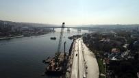 ANADOLU LİSESİ - Eminönü-Alibeyköy Tramvay Projesi İçin Haliç'e Kazık Çakıldı