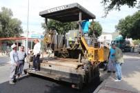 BODRUM BELEDİYESİ - Gümbet Mahallesi'nde Asfalt Çalışmaları