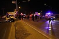 POLİS - Hız Sınırını Aşan Kamyonetler Kaza Yaptı Açıklaması 1 Ölü 5 Yaralı