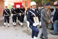 MÜDÜR YARDIMCISI - Kansere Yenilen Polis Memuru, Son Yolculuğuna Uğurlandı