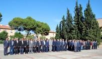 İSTIKLAL MARŞı - Manisa İlçelerinde Muhtarlar Günü Kutlandı