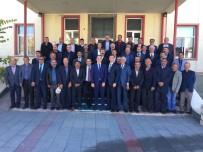DERNEK BAŞKANI - Muhtarlar Günü Aşkale'de Kutlandı