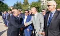 TRABZON VALİSİ - Muhtarlardan Başkan Gümrükçüoğlu'na Ziyaret