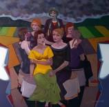 YÜZÜNCÜ YıL ÜNIVERSITESI - SANKO Sanat Galerisinde Sergi