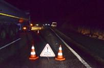 CEHENNEM DERESİ - Şanlıurfa'da Trafik Kazası Açıklaması Aynı Aileden 1 Ölü, 6 Yaralı