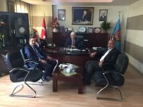 PRİM BORÇLARI - SGK Müdürü Göksoy'dan Başkan Tuğrul'a Ziyaret