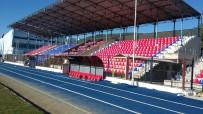 AHMET TURAN - Söke İlçe Stadı Tribün Koltukları Yenilendi