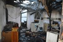 Söke Savuca'da Ev Yangını