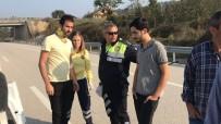 KONURALP - Takla Atan Otomobilde 2 Yaralı